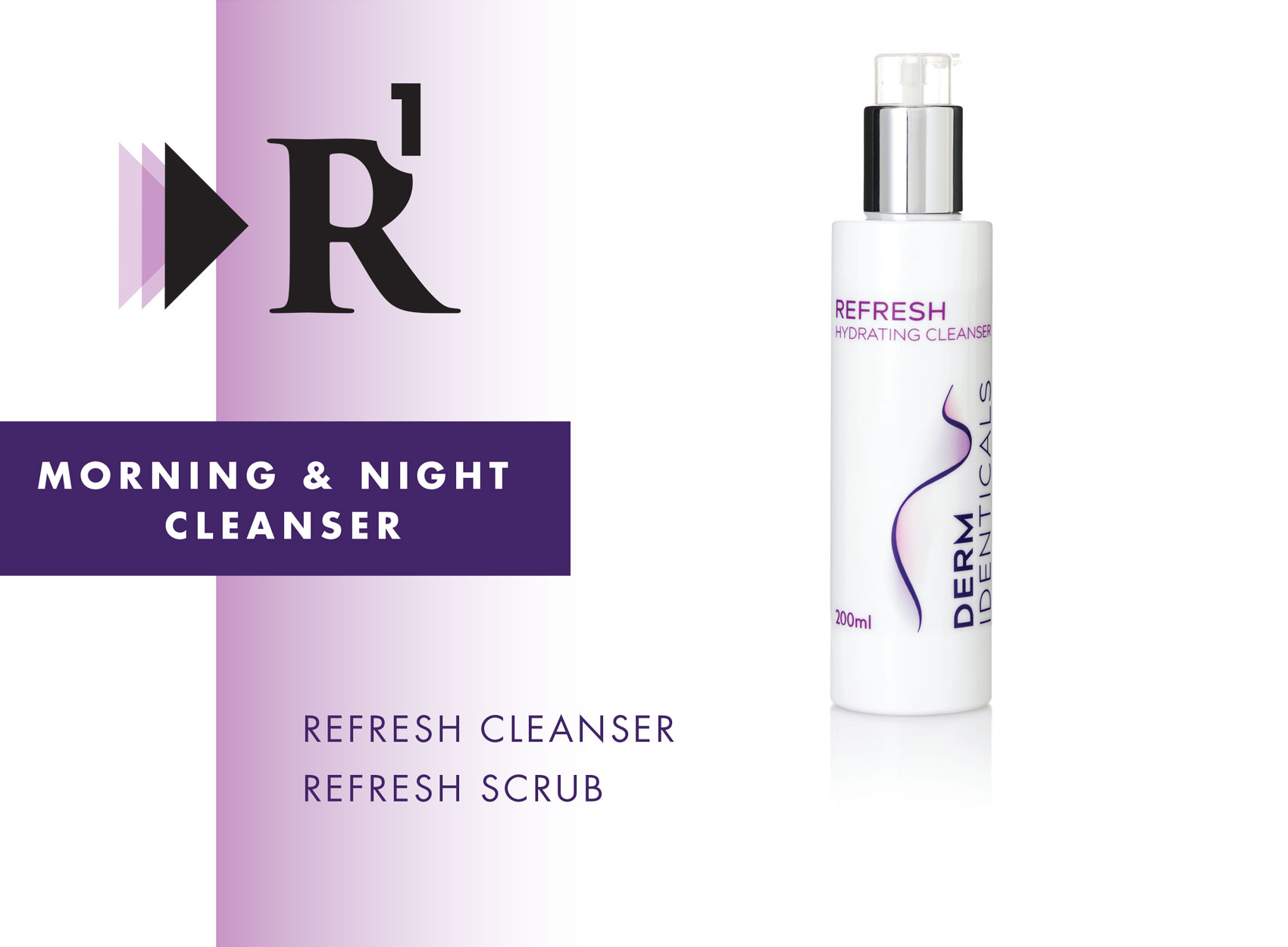 R1 Morning and Night Cleanser