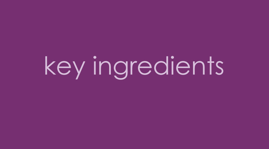 Best Key Ingredients for Skin care products